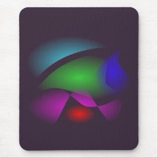 Espaço quieto mouse pads