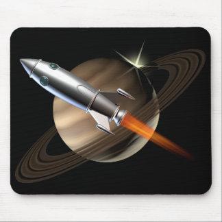 Espaço Rocket de Saturn Mouse Pad