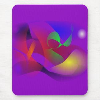 Espaço roxo mousepads