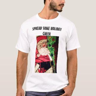 ESPALHE ALGUM t-shirt dos homens do ELOGIO do