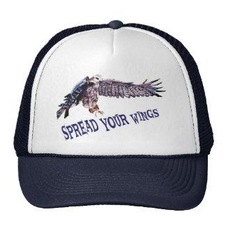 Espalhe seu chapéu das asas boné
