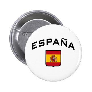 Espanha Bóton Redondo 5.08cm