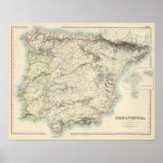 Espanha e Portugal 18 Pôster