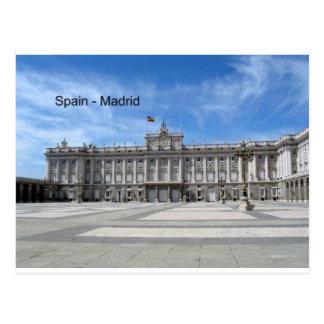 Espanha, Madrid Plaza de la Armería (St.K) Cartão Postal