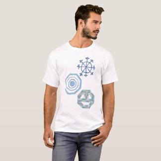 Especial floco de neve o t-shirt de nenhuns homens