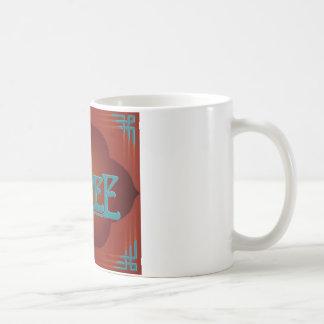 """""""espécie Nouveau Coffee Mug """" Canecas"""