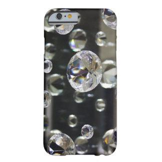 espelho do diamante 3D Capa Barely There Para iPhone 6