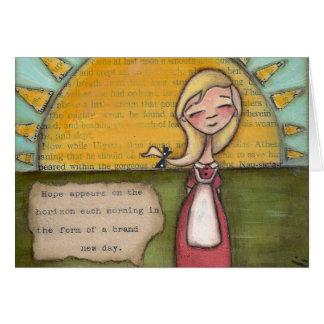 Esperança - cartão