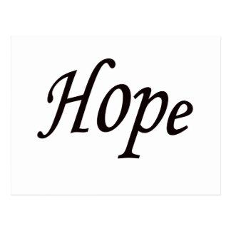 esperança cartão postal