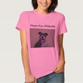 Esperança das mulheres para o t-shirt do logotipo