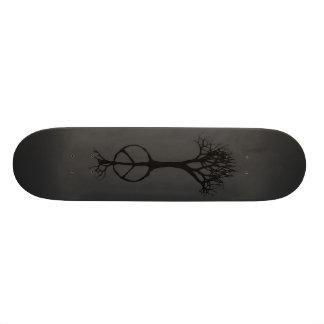 esperança enraizada na paz shape de skate 20,6cm
