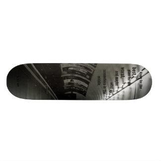 Esperança para, melhor. - Personalizado Shape De Skate 21,6cm