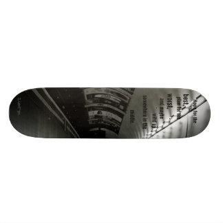 Esperança para, melhor… skate personalizado
