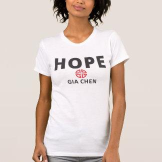 Esperança por Gia Chen Camiseta