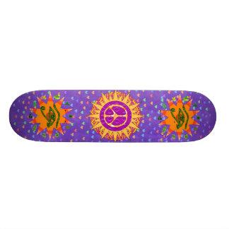 Espiral de Sun da paz Skate