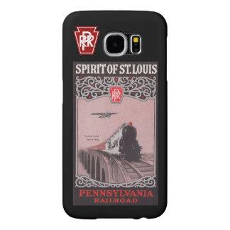 Espírito do trem de PRR de St Louis Capas Samsung Galaxy S6