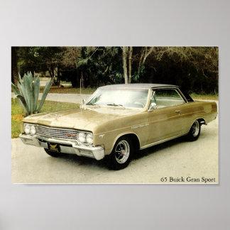 Esporte 1965 de Buick Skylark Gran Pôster