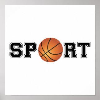 Esporte (basquetebol) pôster