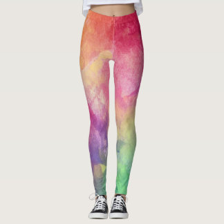 Esporte colorido Legging