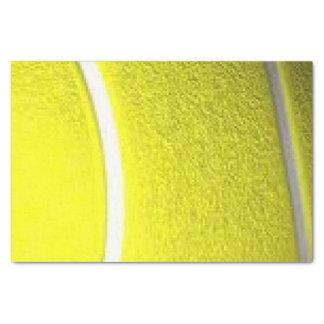 Esporte da bola de tênis papel de seda
