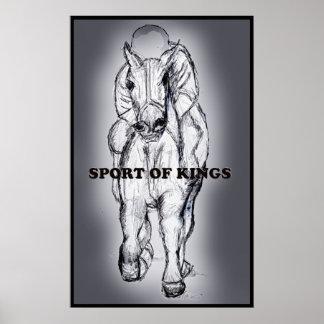 Esporte do poster dos reis pôster