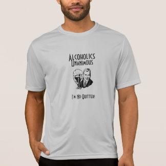 Esporte unânime T dos alcoólicos Tshirt