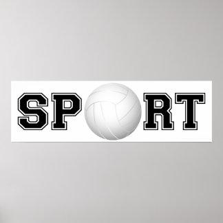 Esporte (voleibol) 1 pôster