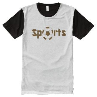 Esportes Camisetas Com Impressão Frontal Completa
