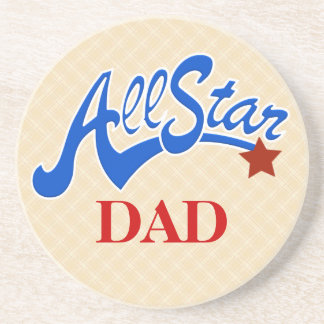 Esportes do pai de All Star Porta Copos De Arenito