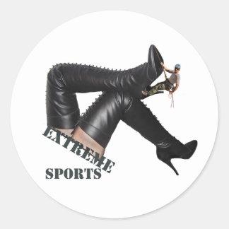Esportes extremos - etiquetas de escalada da BOTA