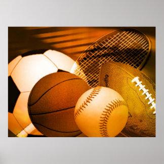 Esportes - poster pôster