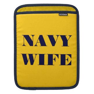 Esposa do marinho da luva de Ipad Capas Para iPad