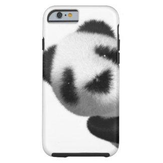 espreitadelas da panda do bebê 3d capa tough para iPhone 6