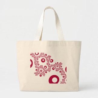 Espreite um saco do vermelho da vaia bolsa tote grande