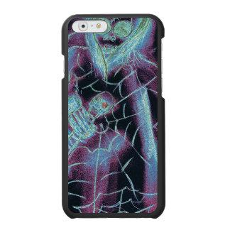 esqueleto assustador perfeito capa carteira incipio watson™ para iPhone 6