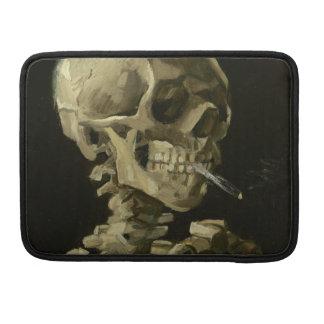 """Esqueleto com cigarro Macbook 1886 pro 13"""" Bolsas Para MacBook Pro"""