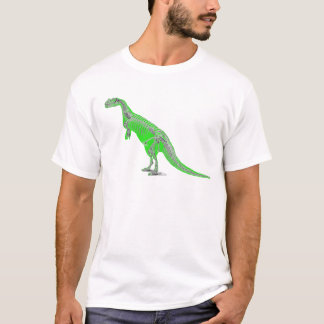 esqueleto do ceratosaurus camiseta