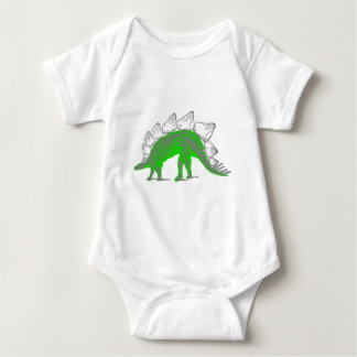 esqueleto do stegosaurus tshirt