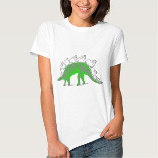 esqueleto do stegosaurus t-shirts