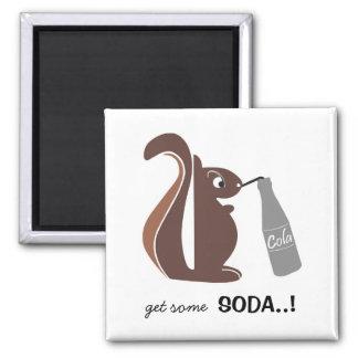 Esquilo 0025 nc ímã quadrado