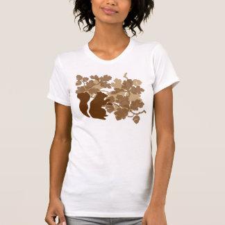 Esquilo Camisetas