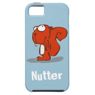 Esquilo de Nutter Capa Tough Para iPhone 5