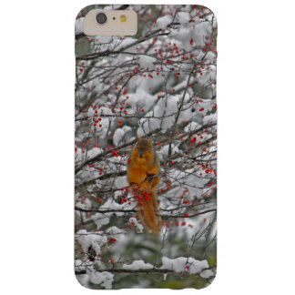 Esquilo na neve capa barely there para iPhone 6 plus