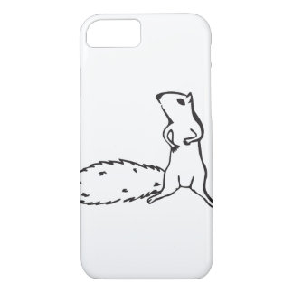 Esquilo pequeno bonito capa iPhone 7