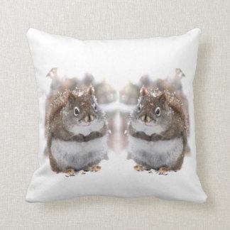 Esquilos doces almofada