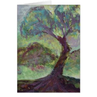 esta árvore, uma cartão comemorativo