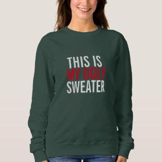 Esta é minha camisola feia moletom