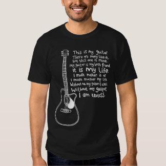 Esta é minha guitarra t-shirt