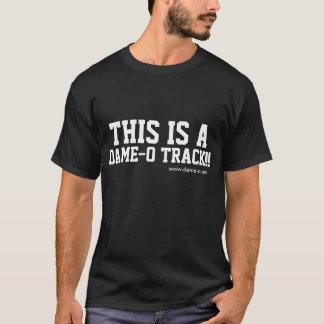 Esta é uma Dama-o Trilha Tee2 Camiseta