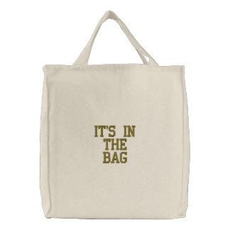 """""""Está o bolsa no saco"""""""